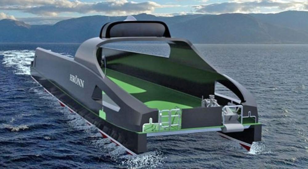 Kongsberg Unmanned Vessel 1