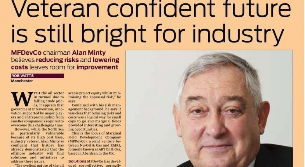 V 2 Upstream 5 Feb 2016 Alan Minty Profile